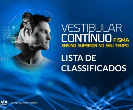 Lista de classificados do Vestibular Contínuo da FISMA